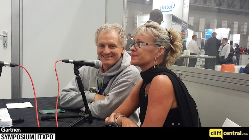 Mary Ann and Gilles at Gartner 2016