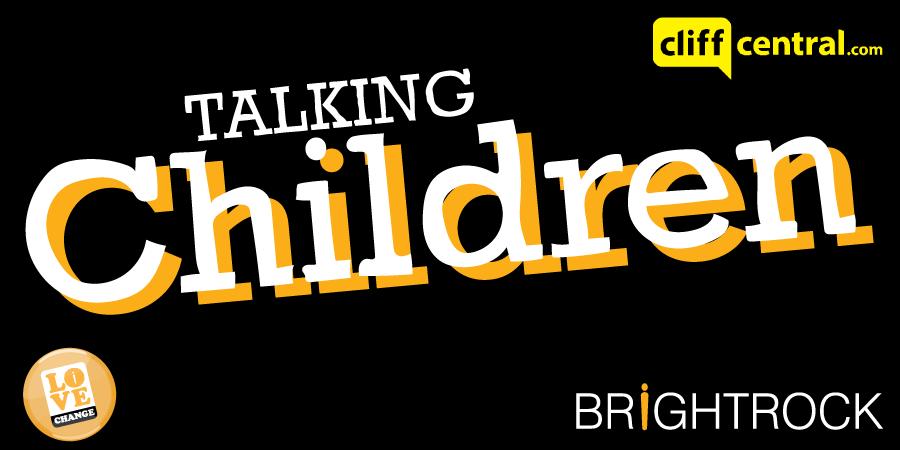 Bright Rock Talking children