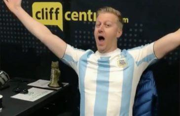 Gareth Cliff - Argentina