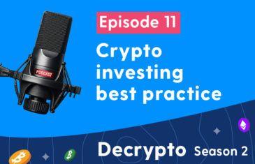 Crypto investing best practice