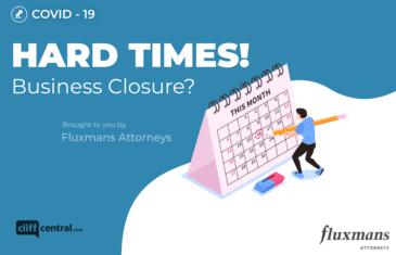In Flux: Coronavirus - Hard Times! Business Closure?