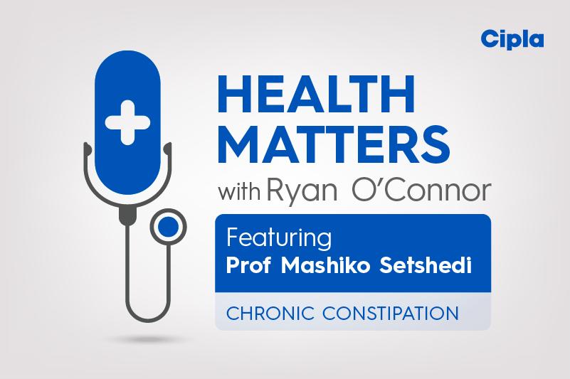 Chronic Constipation with Professor Mashiko Setshedi