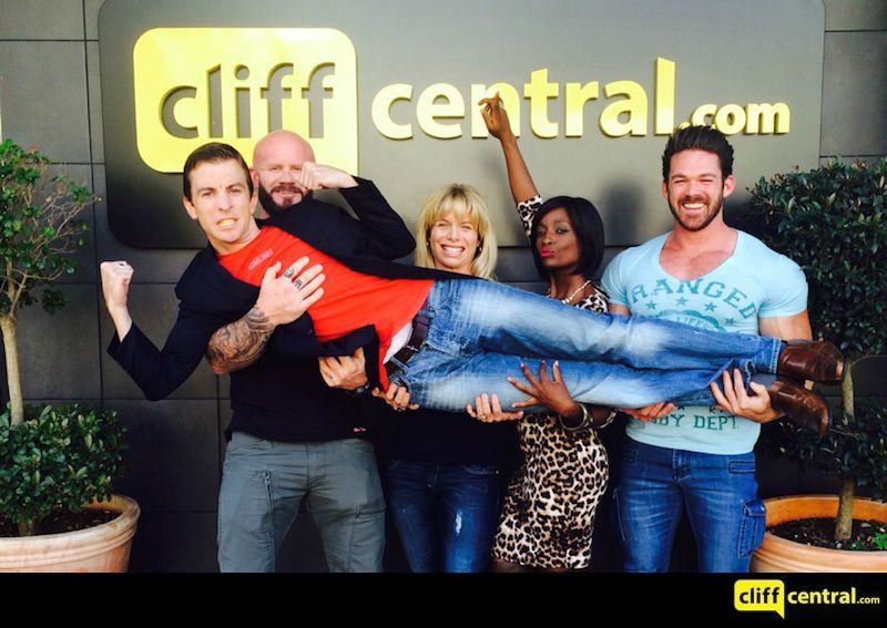 150521 Future CEOs CliffCentral Business Fitness Hlubi Mboya Gareth Armstrong Andrew Carruthers Louise Van Der Nat Gavin Perry WBFF Logo