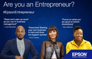 #EpsonEntrepreneur: No entrepreneur is an island