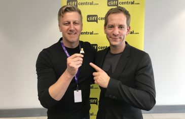 Gareth with Lars Silberbauer