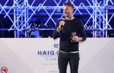 David Beckham - Haig Club Clubman