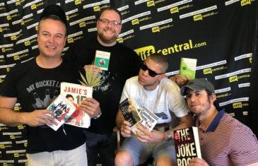 comedians read books