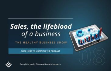 Discovery The healthy Business Show - Sales Podcast Banner