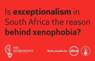 Is exceptionalism in South Africa the reason behind xenophobia?