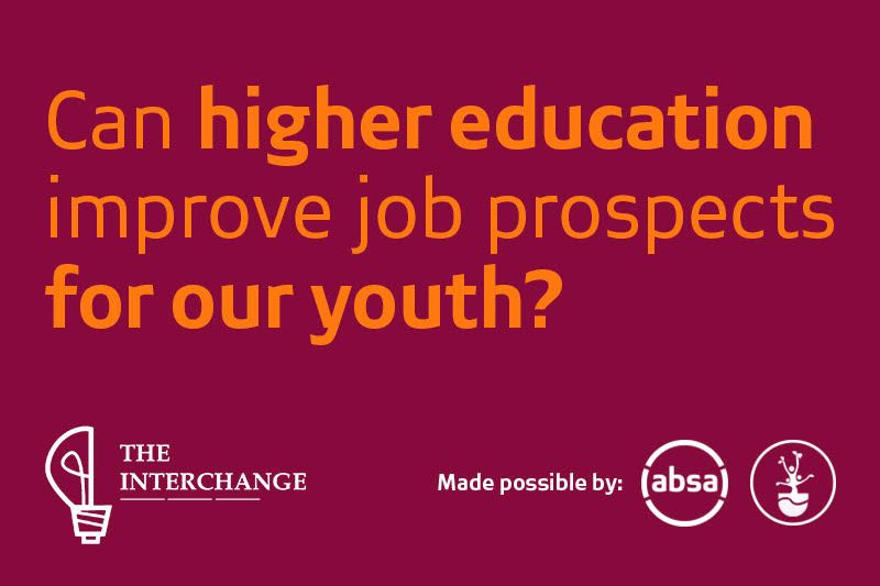 Can higher education improve job prospects for our youth?