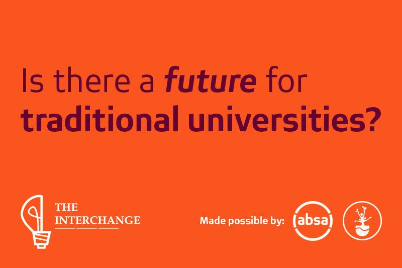 Is there a future for traditional universities?