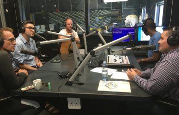 Alan Committie, Craig Urbani & Brendan van Rhyn