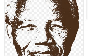 Spending time with Nelson Mandela