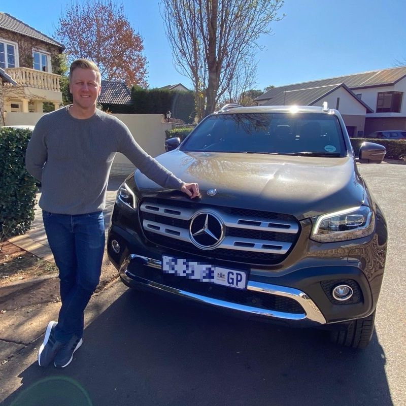 Gareth Cliff and the 'big fish' Bakkie