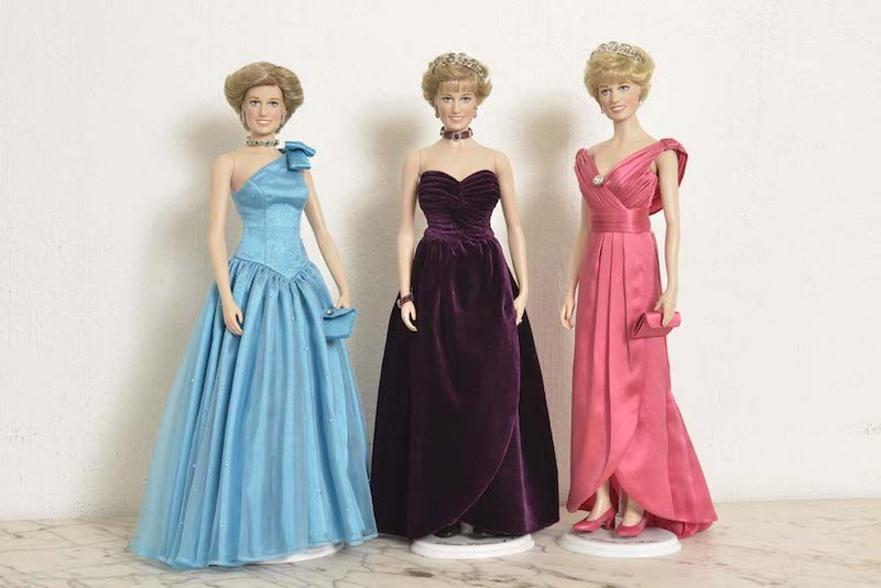 Bennie's Princess Diana Dolls